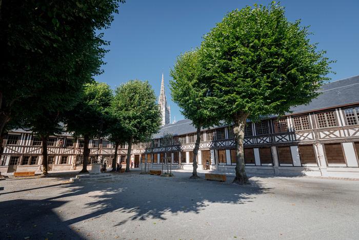 Journées du patrimoine 2020 - Visite libre de l'Aître Saint-Maclou