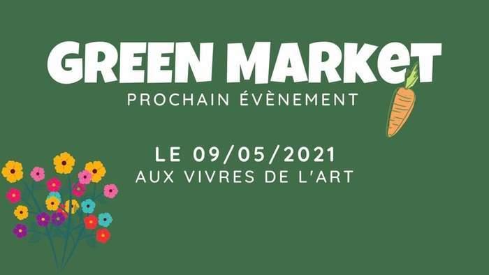 GREEN Market du 26 juillet, aux Vivres de l'Art