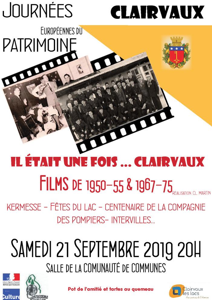 Journées du patrimoine 2019 - Projection de films années 1950-1970