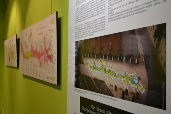 Journées du patrimoine 2019 - Stand interactif de l'Association des Climats du vignoble de Bourgogne