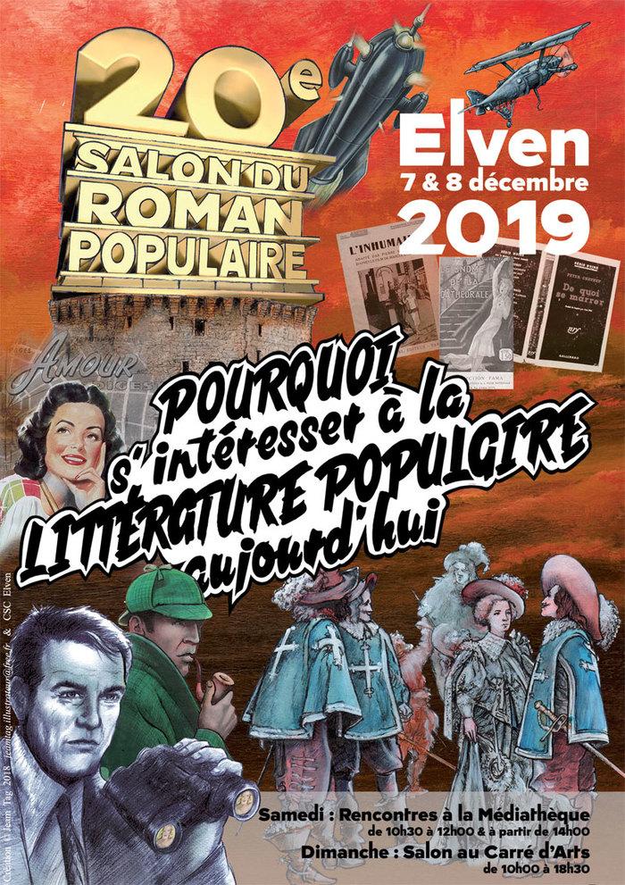 « 150 ans de suites et pastiches d'Alexandre Dumas » : une conférence au Salon du Roman Populaire d'Elven