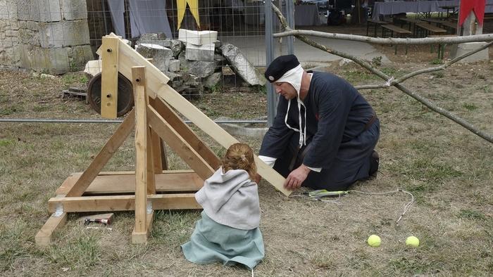 Journées du patrimoine 2020 - Jeux médiévaux pour enfants et grands enfants !