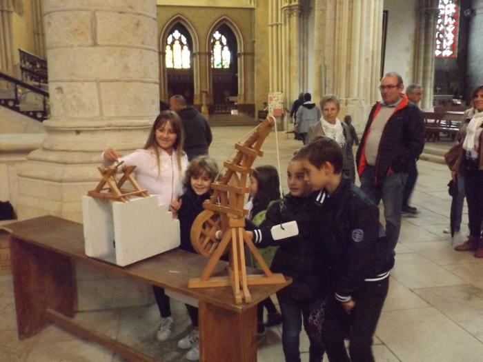 Journées du patrimoine 2019 - Les engins de levage, atelier pour enfants et adultes