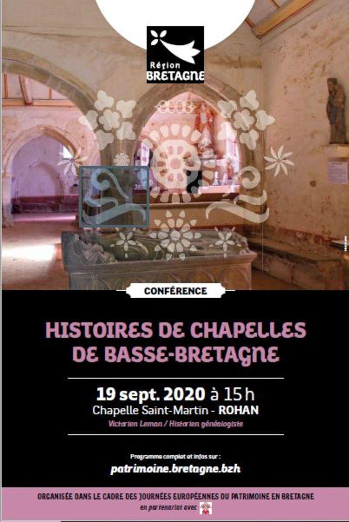 Journées du patrimoine 2020 - Conférence