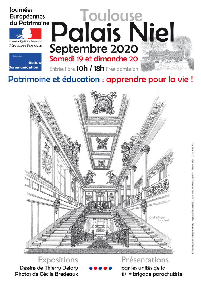 Journées du patrimoine 2020 - Visite libre avec expositions et animations