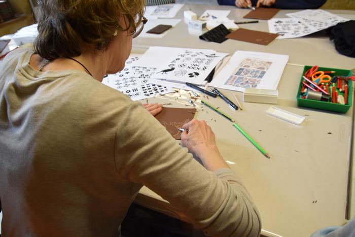 Journées du patrimoine 2019 - Atelier de gravure