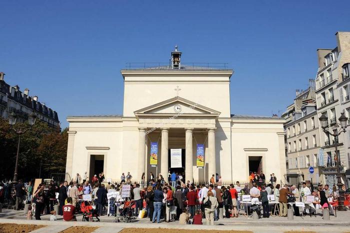 Journées du patrimoine 2020 - Visite commentée de l'église Sainte Marie des Batignolles