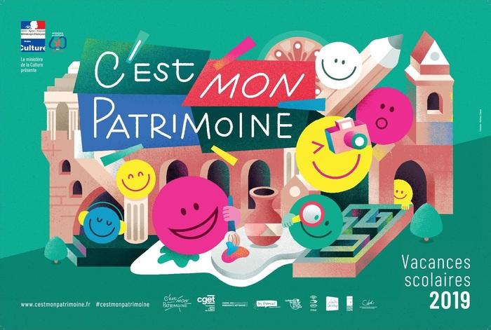 Journées du patrimoine 2019 - Présentation des œuvres réalisées dans le cadre de l'opération « C'est mon patrimoine ! »