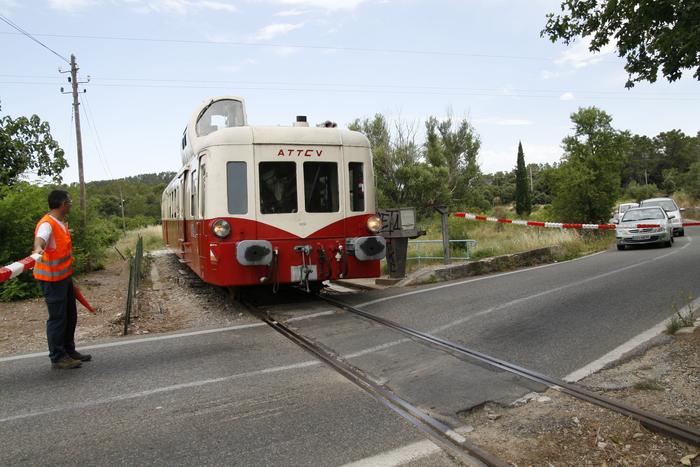Journées du patrimoine 2019 - Découverte de la provence verte avec le train touristique du Centre Var