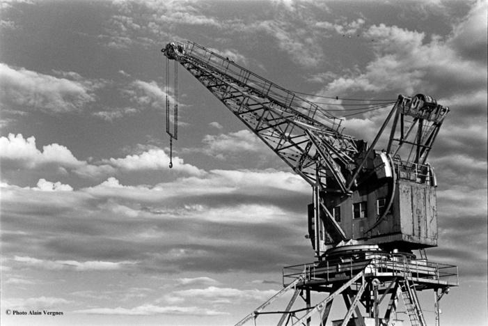 Journées du patrimoine 2019 - Découverte du chantier de restauration de la grue Wellman.