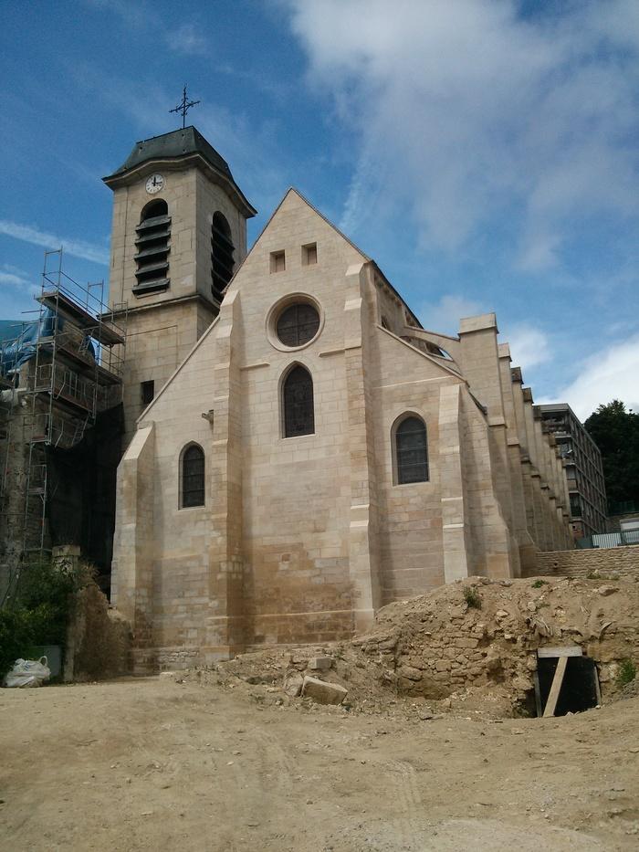 Journées du patrimoine 2019 - Visite guidée à l'église Saint-Denys