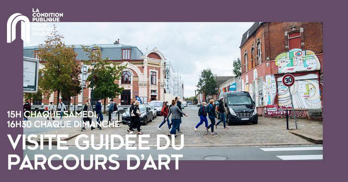 Visite guidée du parcours d'art urbain