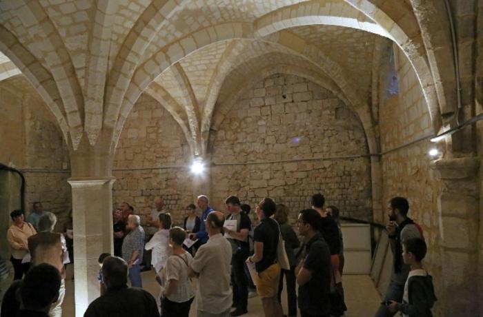 Journées du patrimoine 2020 - A la découverte des caves du palais