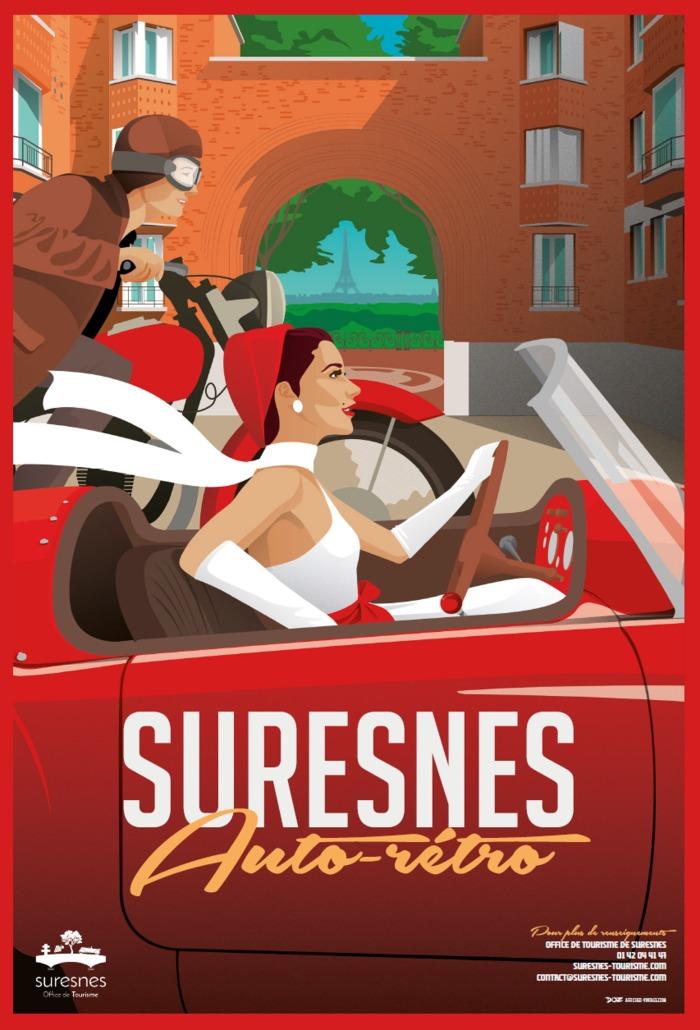 Journées du patrimoine 2020 - Exposition sur l'histoire automobile suresnoise