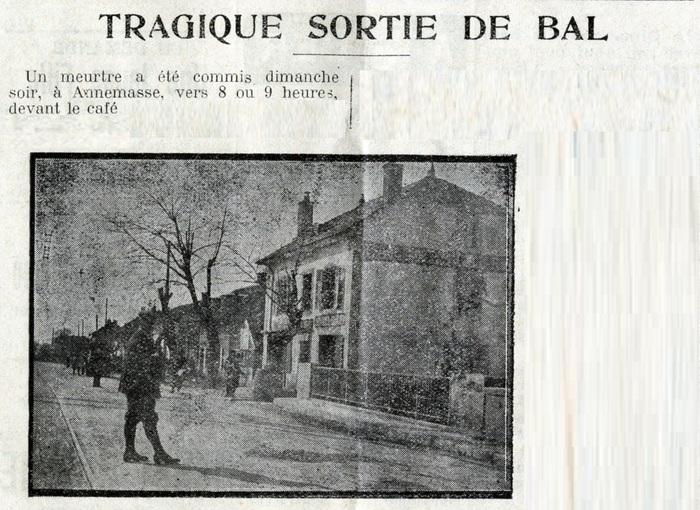 Journées du patrimoine 2020 - Enquête policière : Tragique sortie de bal!