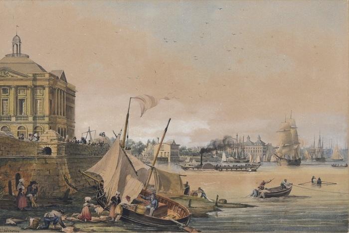 Bordeaux-les-Bains. Les bienfaits de l'eau. XVIIIe – XXe siècles