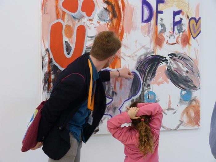Visite familles de l'exposition «Milléniales. Peintures 2000-2020» – spécial vacances d'octobre