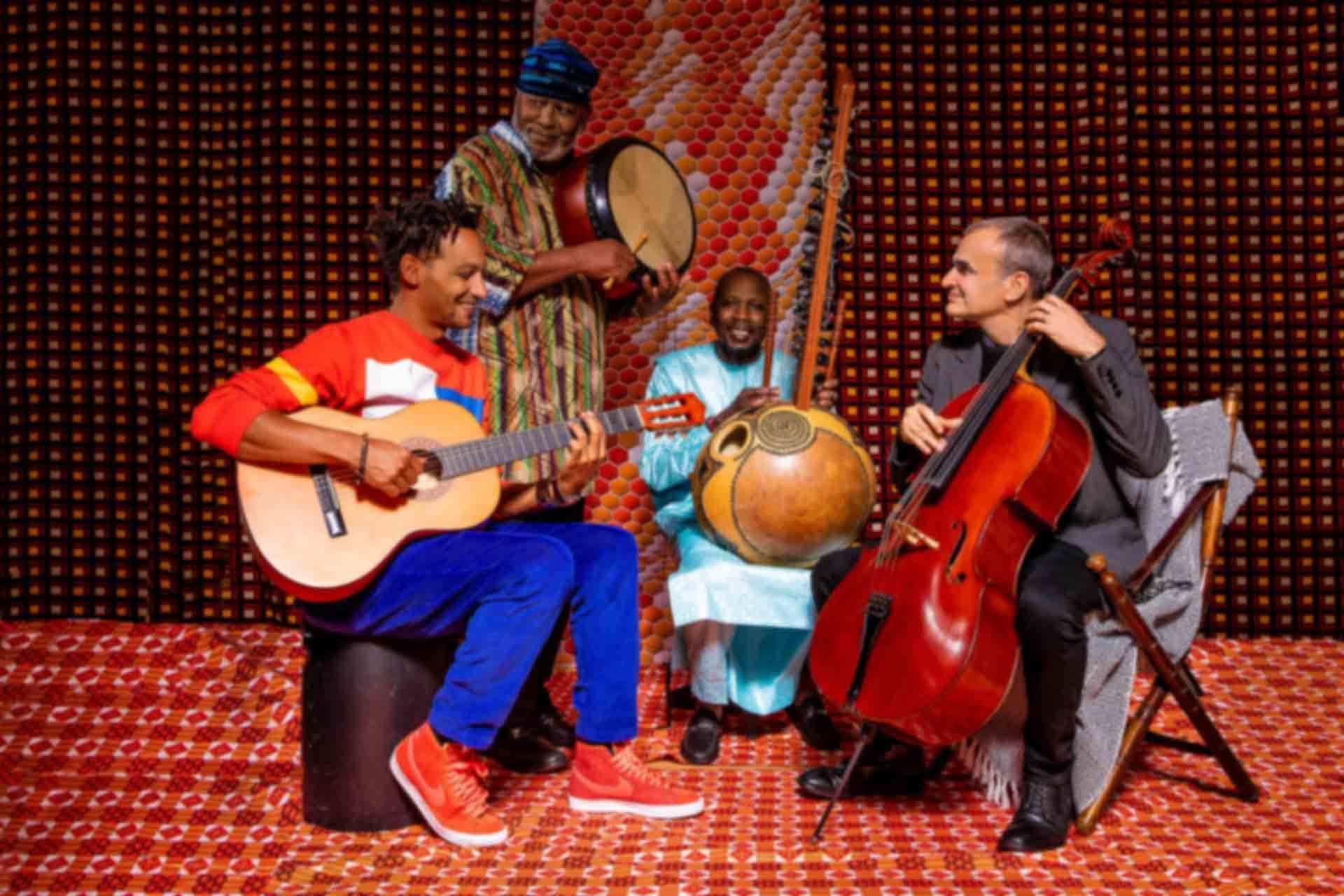 David Walters & Ballaké Sissoko, Vincent Ségal, Roger Raspail