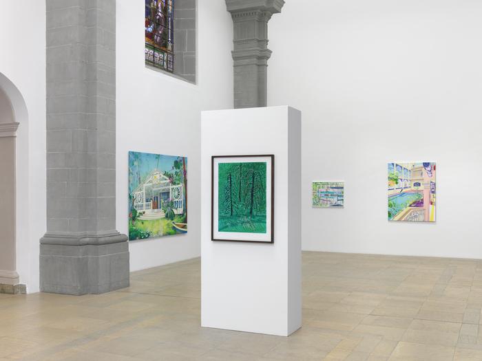 Journées du patrimoine 2020 - Visite Flash:  L'exposition Marion Charlet - David Hockney « La peinture, un médium pluriel ».