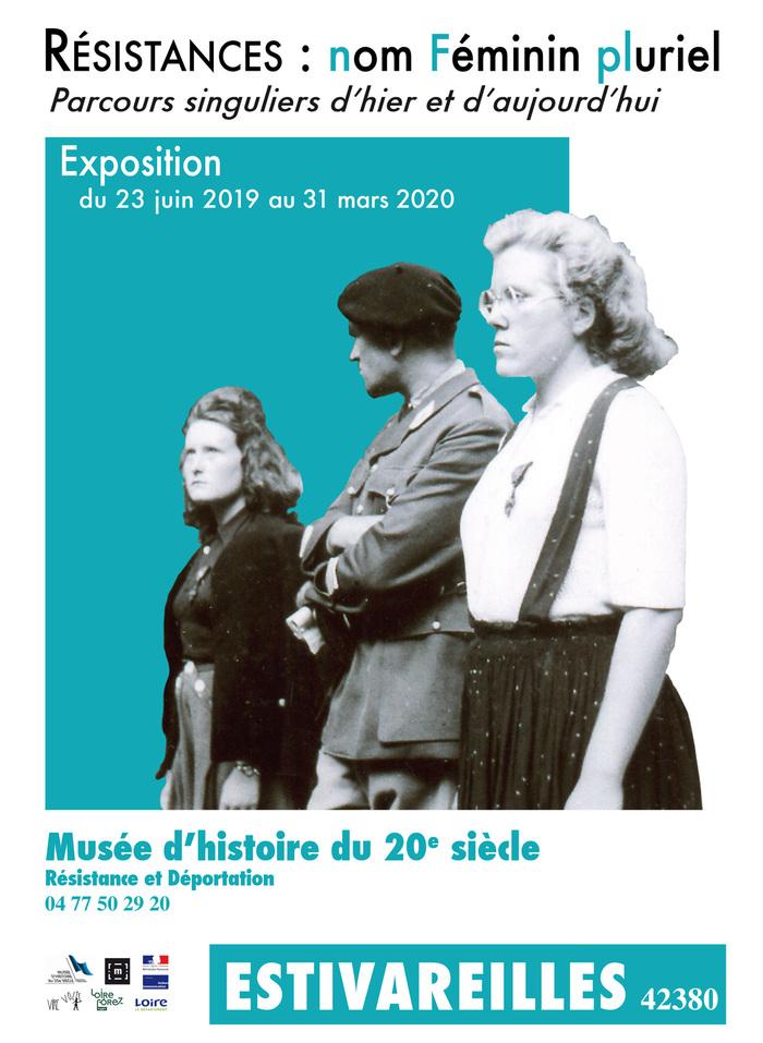 Journées du patrimoine 2019 - Résistances : nom Féminin pluriel - Parcours singuliers d'hier et d'aujourd'hui