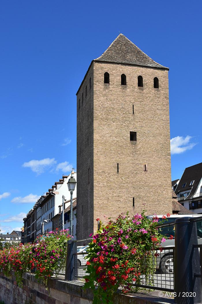 Journées du patrimoine 2020 - Visite inédite d'une Tour des Ponts Couverts de Strasbourg