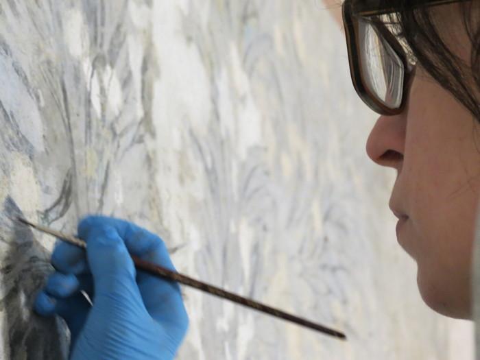 Journées du patrimoine 2020 - Démonstration de restauration d'œuvres d'art par Mélissa Losano
