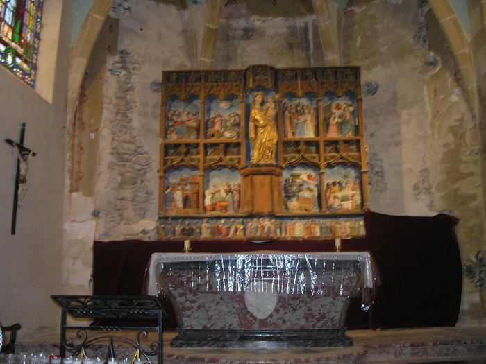 Journées du patrimoine 2019 - Conférence sur la restauration du retable de l'église