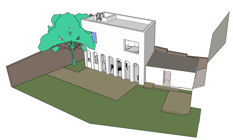 C'est toujours chouette de modéliser sa propre maison ou de faire sortir de son imagination des espaces ou des objets.
