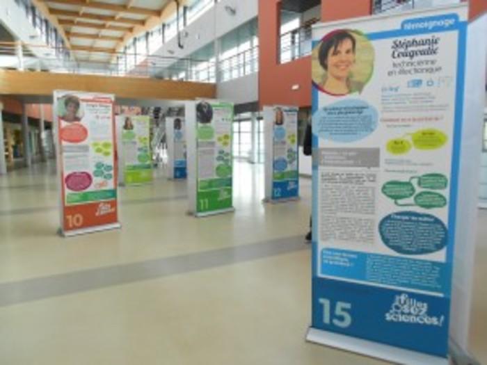 Journées du patrimoine 2019 - Exposition « Les filles, osez les sciences »