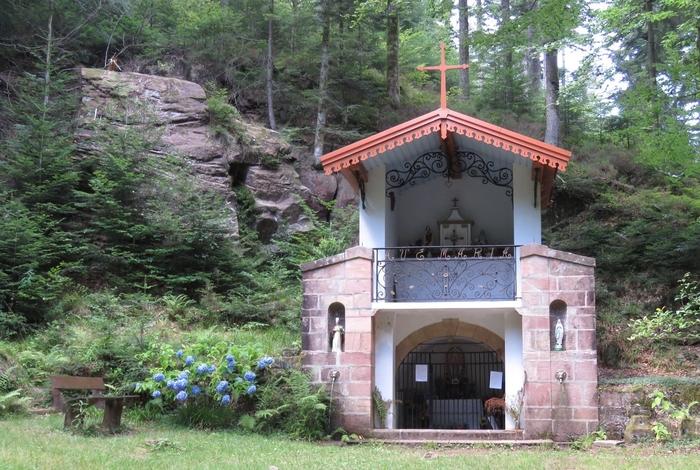 Journées du patrimoine 2019 - L'abbaye de Moyenmoutier, Sainte-Odile : le pèlerinage de Malfosse