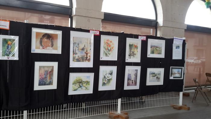 Journées du patrimoine 2019 - Exposition annuelle de l'École de Dessin Peinture François Pernot