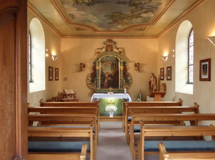 Journées du patrimoine 2020 - Ouverture de la Chapelle Sainte-Anne