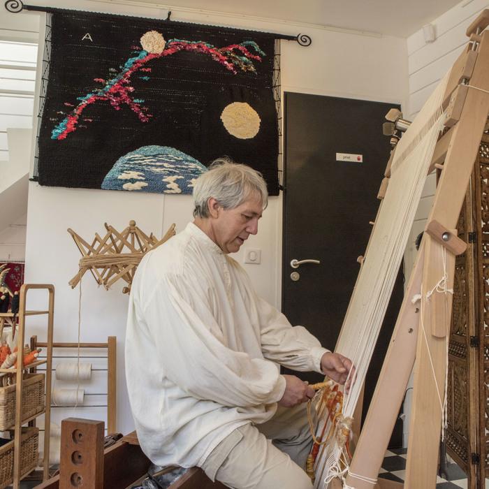 Journées du patrimoine 2019 - Démonstration : découverte de la tapisserie bi et tridimensionnelle