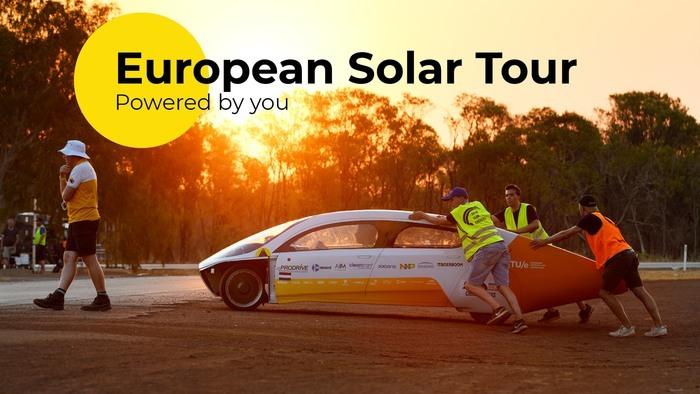 Voyage en voiture solaire avec Solar Team Eindhoven