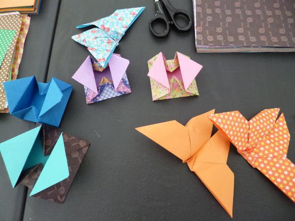 Nuit des musées 2019 -Atelier d'origami