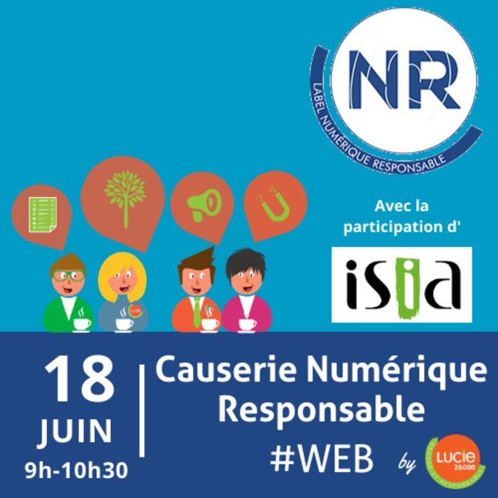 Causerie web Numérique Responsable by LUCIE