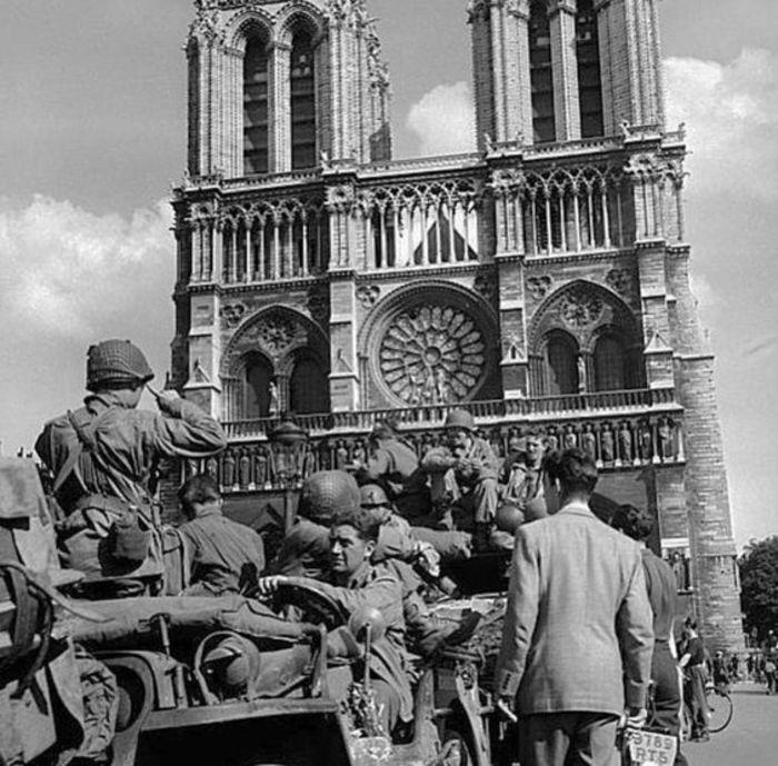 Messe 76ème anniversaire de la Libération de Paris