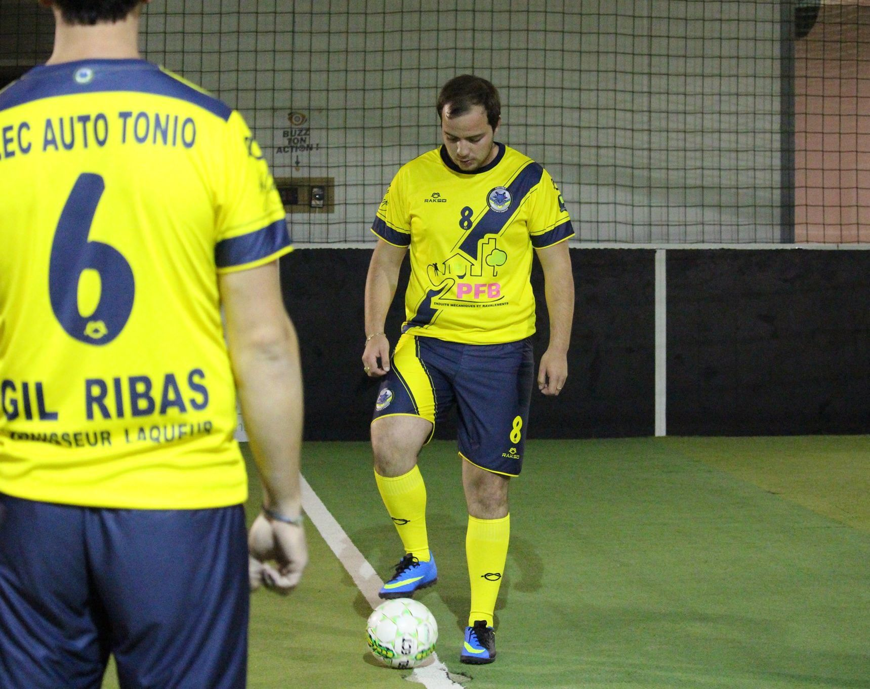 Matchs de Futsal à cenon