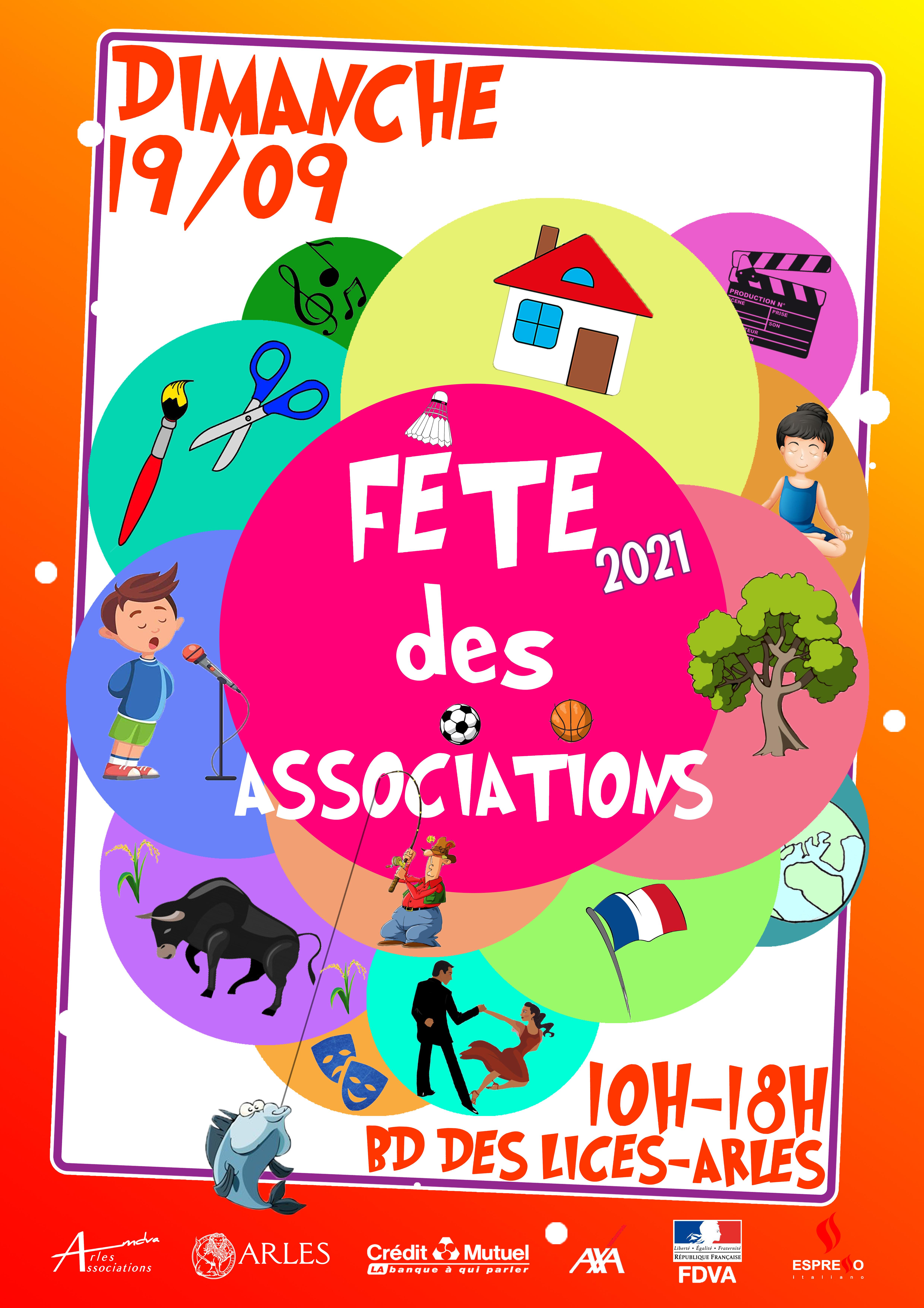 Organisée par la Maison de la vie associative d'Arles