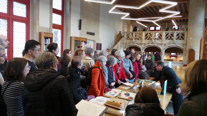Journées du patrimoine 2019 - Découverte d'une bibliothèque partrimoniale