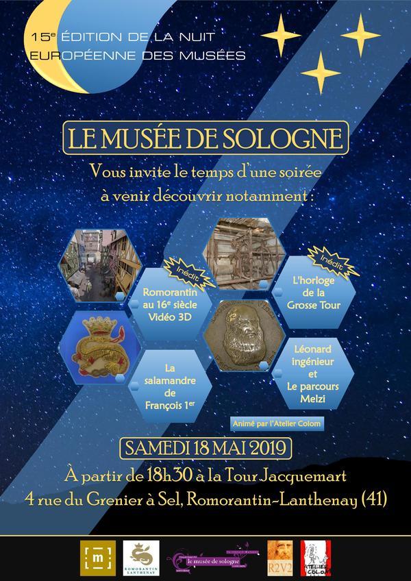 Nuit des musées 2019 -Autour de la Renaissance