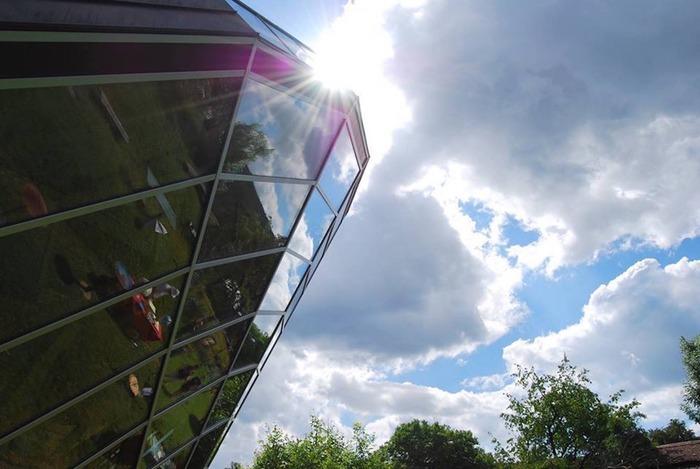 Journées du patrimoine 2019 - Visite commentée de l'Heliodome, Prototype d'Architecture Heliodynamique par Eric Wasser, Prix du Président de la République Concours Lépine