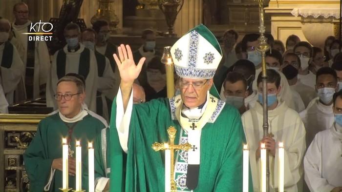 Célébration de la messe