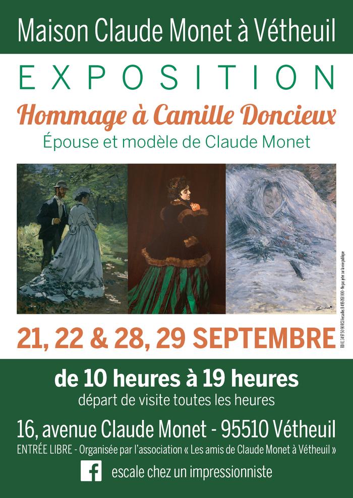 Journées du patrimoine 2019 - Hommage à Camille Doncieux, épouse et modèle de Claude Monet