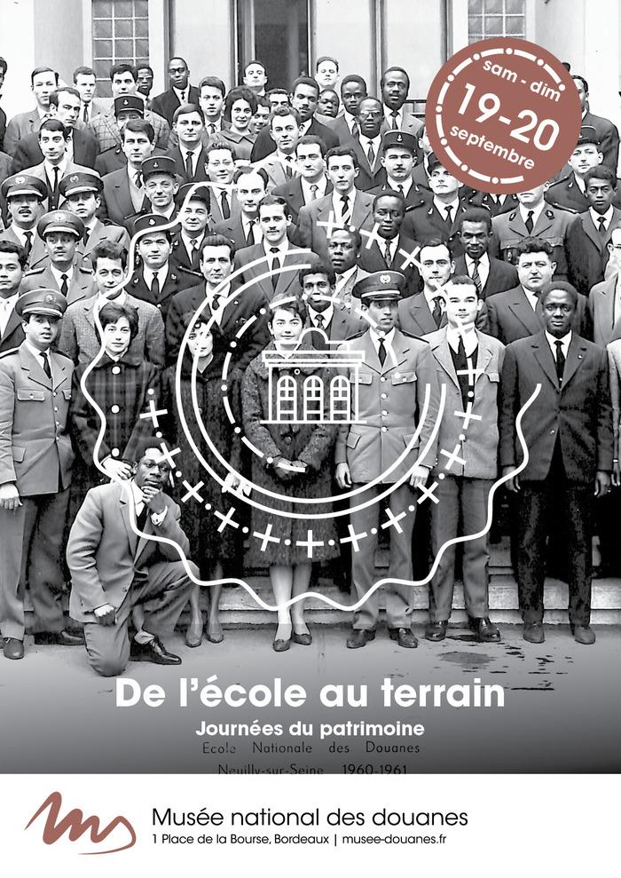 Journées du patrimoine 2020 - Annulé | Parcours de découverte de la douane : de l'école au terrain