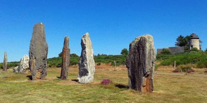 Journées du patrimoine 2019 - Visite découverte des alignements du Moulin et déplacement de menhir