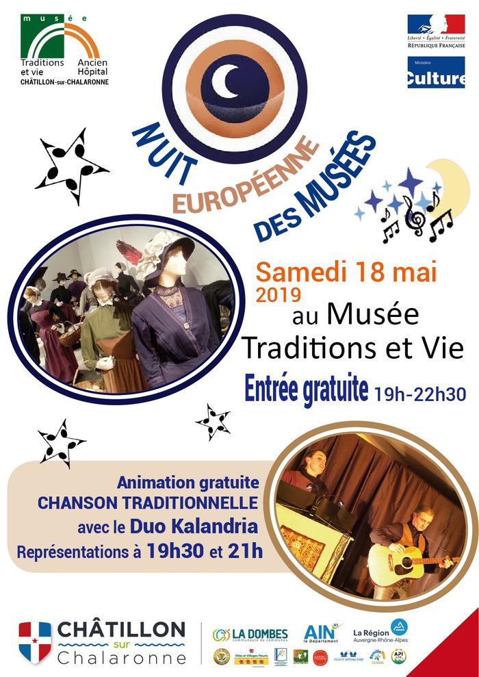Nuit des musées 2019 -Nuit européenne au musée traditions et vie