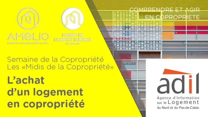 Semaine de la Copropriété : L'achat d'un logement en copropriété