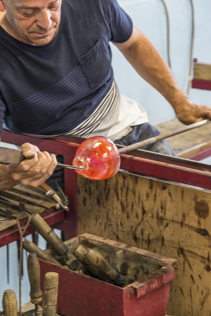 Journées du patrimoine 2020 - Démonstration de soufflage de verre et exposition des œuvres de la Cristallerie Royale de Champagne-Bayel