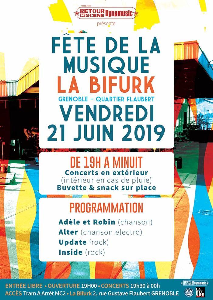 Fête de la musique 2019 - Adèle et Robin / Alter / Update / Inside
